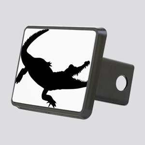 Crocodile Rectangular Hitch Cover