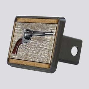 Wild West Pistol 2 19 Rectangular Hitch Cover