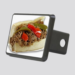 Italian Beef Sandwich from Rectangular Hitch Cover