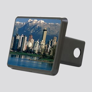View of Vancouver, Canada Rectangular Hitch Cover