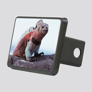 Marine iguana Rectangular Hitch Cover