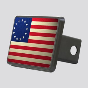 Betsy Ross Revolutionary W Rectangular Hitch Cover