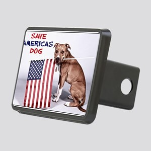 Save Americas Dog Rectangular Hitch Cover