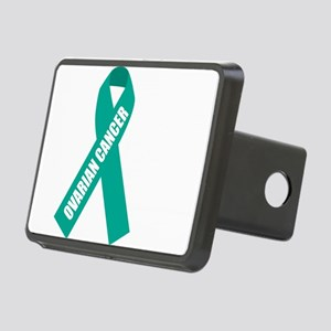 Ovarian-Cancer-Hope-blk Rectangular Hitch Cover