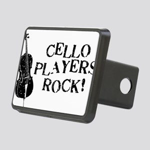 Cello-Players-Rock-01-a Rectangular Hitch Cover