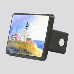 Cape Cod Light Print Rectangular Hitch Cover