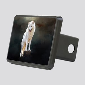 Arctic wolf Hitch Cover