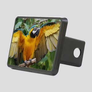 Macaw Wings Rectangular Hitch Cover