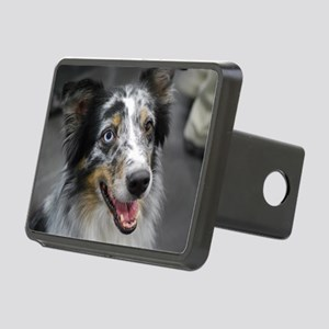 Australian Shepherd Herd D Rectangular Hitch Cover