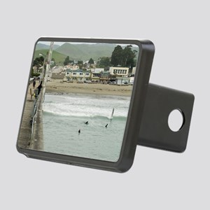 Cayucos Pier View Rectangular Hitch Cover