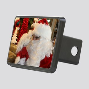 Kissing Santa Rectangular Hitch Cover