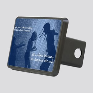 Dancing in the Rain Rectangular Hitch Cover