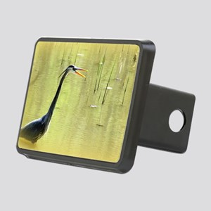 Blue Heron Rectangular Hitch Cover