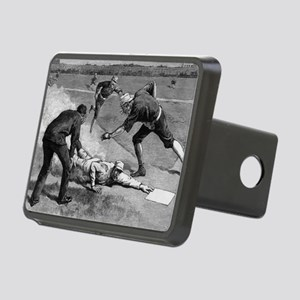 Vintage Sports Baseball Rectangular Hitch Cover
