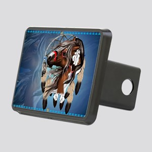 Paint Horse Dreamcatcher-Y Rectangular Hitch Cover