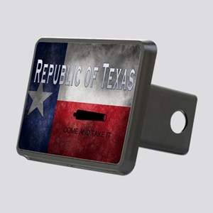 Republic of Texas Rectangular Hitch Cover