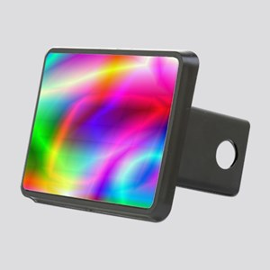 Colorful Style Rectangular Hitch Cover