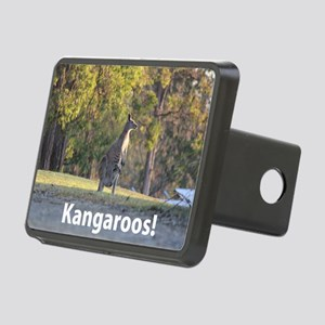 Kangaroos Rectangular Hitch Cover