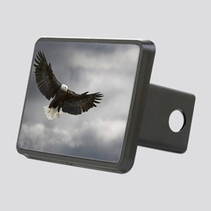 Bald eagle Rectangular Hitch Cover