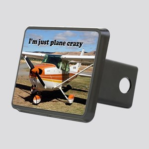 I'm just plane crazy: high Rectangular Hitch Cover