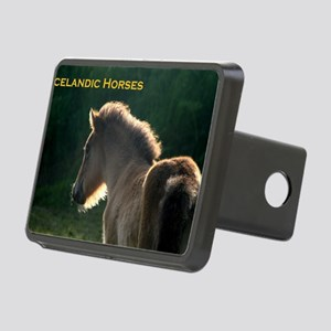icehorsesbig Rectangular Hitch Cover