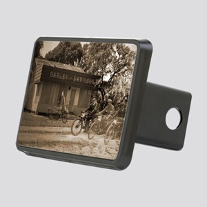 Harley Shop Rectangular Hitch Cover