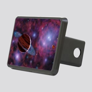 Free-floating planets Rectangular Hitch Cover