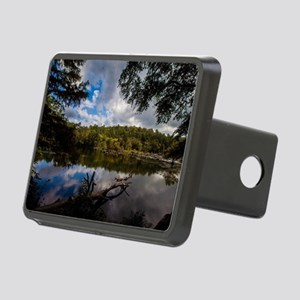 Beavers Bend Oklahoma Lake Rectangular Hitch Cover
