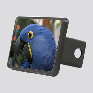 Hyacinth Macaw Rectangular Hitch Cover
