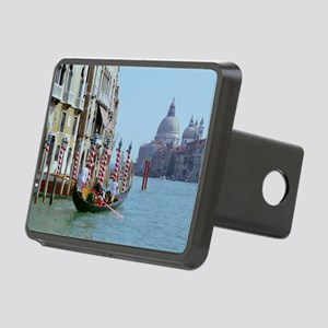 The Grande Canal in Italy  Rectangular Hitch Cover