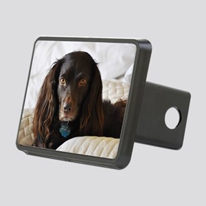 Halle in Bed Rectangular Hitch Cover