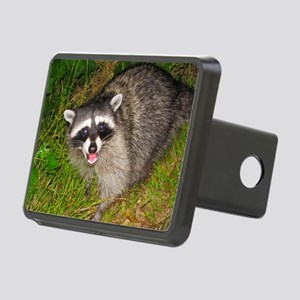 raccoon Rectangular Hitch Cover