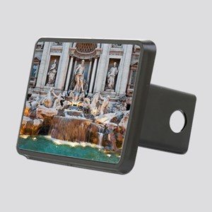 Trevi Fountain Rectangular Hitch Cover