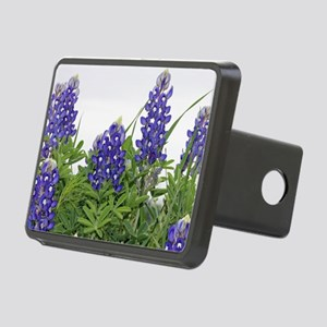 Texas bluebonnet serving t Rectangular Hitch Cover