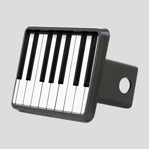 Piano Keys Rectangular Hitch Cover