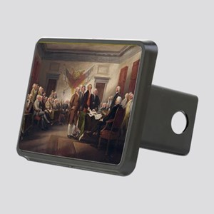 declaration-of-independenc Rectangular Hitch Cover