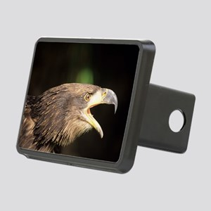 Young bald eagle Rectangular Hitch Cover