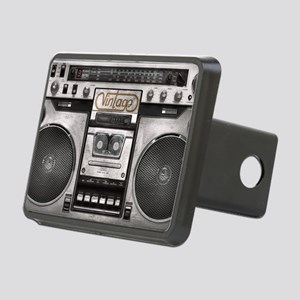 BOOM BOX LAPTOP SKIN Rectangular Hitch Cover