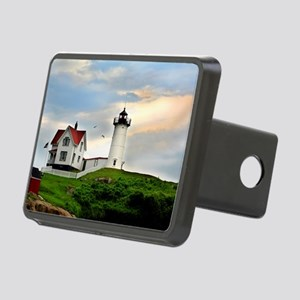 Nubble Lighthouse Rectangular Hitch Cover