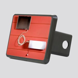 Solar powered lamp Rectangular Hitch Cover