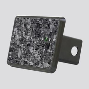 borg laptop Rectangular Hitch Cover