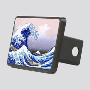 LAPTOP -Gr8 Wave-Hokusai Rectangular Hitch Cover