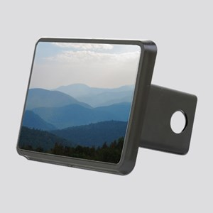 Blue Smokey Mountains #02 Rectangular Hitch Cover