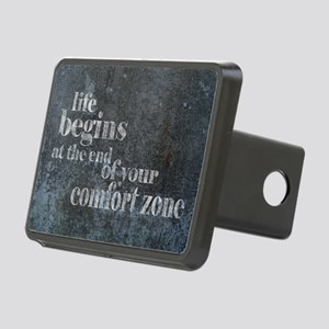 Life Begins Rectangular Hitch Cover