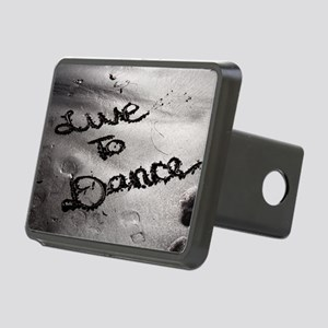 Live To Dance Rectangular Hitch Cover