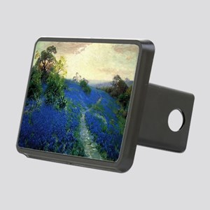Onderdonk painting, Bluebo Rectangular Hitch Cover