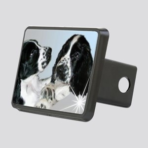 Spaniel Rectangular Hitch Cover