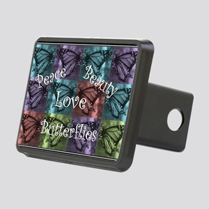 butterflyMommy2 Rectangular Hitch Cover