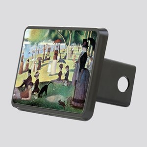 Sunday Afternoon by Seurat Rectangular Hitch Cover