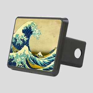 The Great Wave Rectangular Hitch Cover